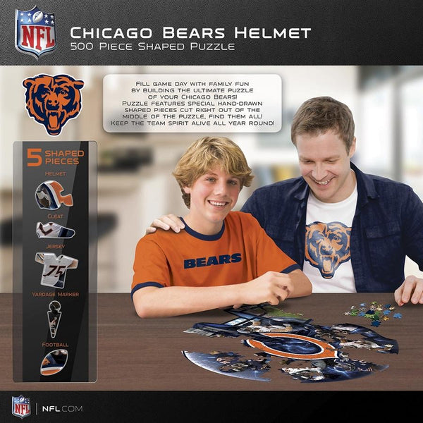 Chicago bears shaped - 500 piece puzzle