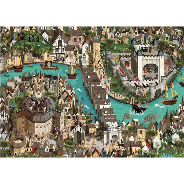 world of shakespeare - 1000 piece puzzle