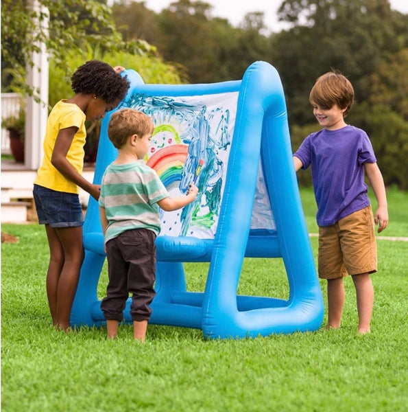 double inflatable easel