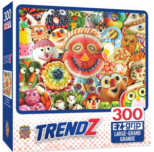 funny face food - 300 piece puzzle