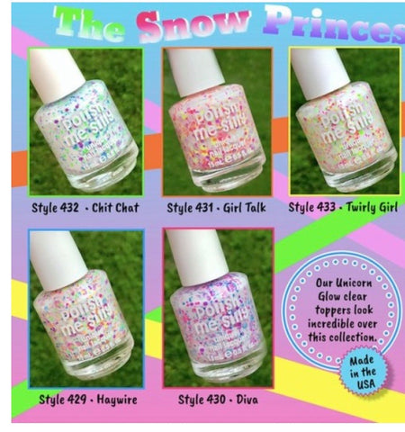 snow princess nail polish