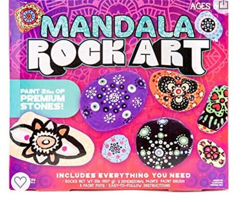 mandala rock art