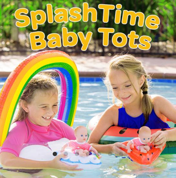 splash time baby tot doll