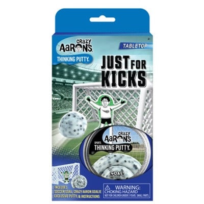 crazy aaron's thinking putty - baseball, football, soccer, and basketball sets
