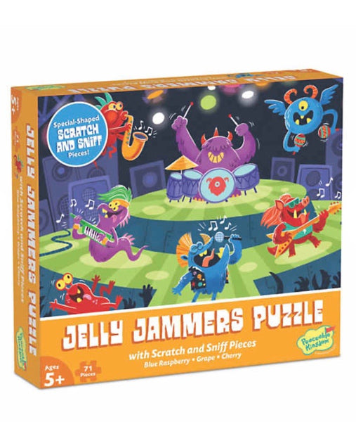 jelly jammers puzzle - 71 pieces