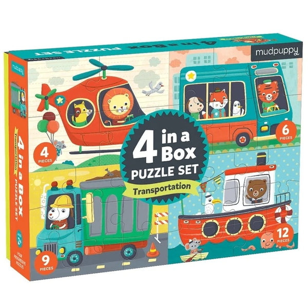 4 in a box - puzzle set