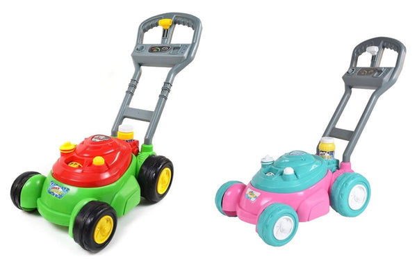 bubble and go mower