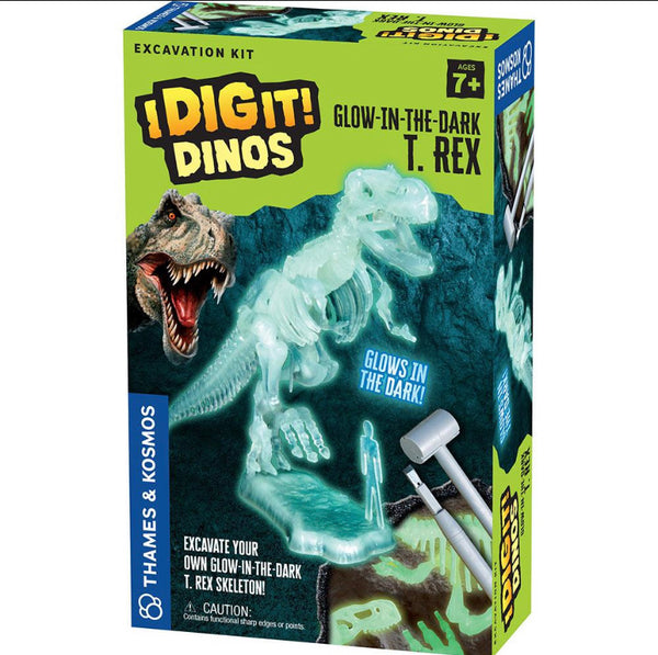 i dig it - treasure or dinos