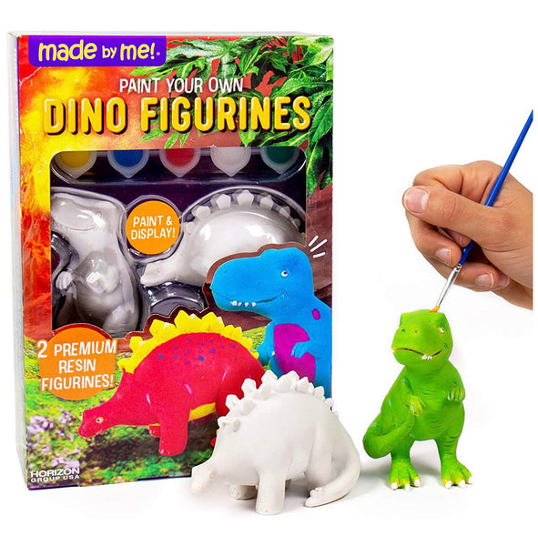 paint your own figurines - jungle, dino, sea life
