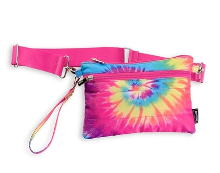 spiral puffer 2 in 1 (wristlet or belt bag)