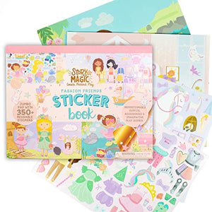 fashion friends sticker book