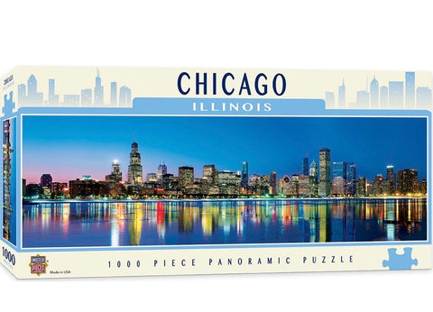 Chicago - 1000 piece panoramic puzzle