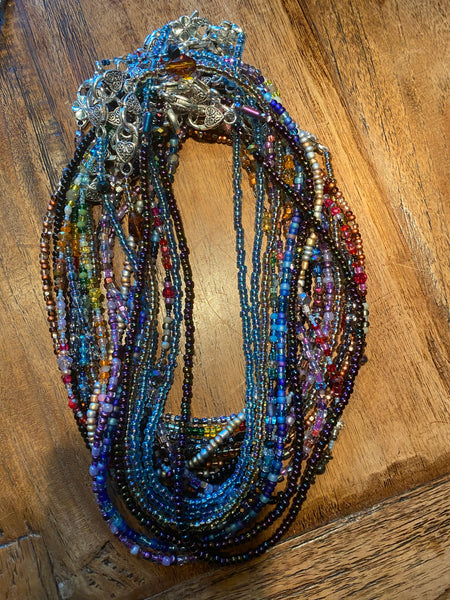 beaded mask chains - adult