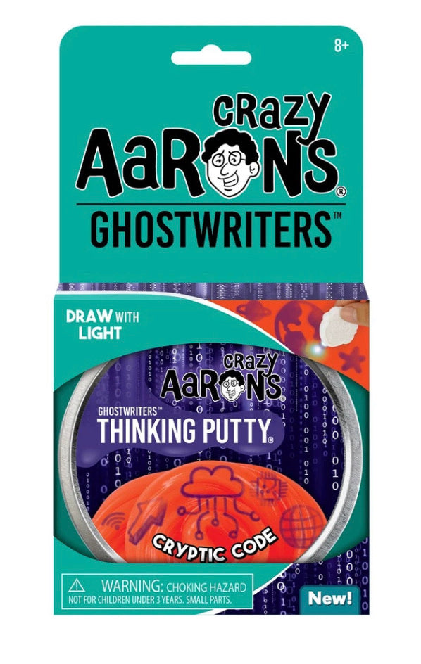 crazy aaron's cryptic code thinking putty