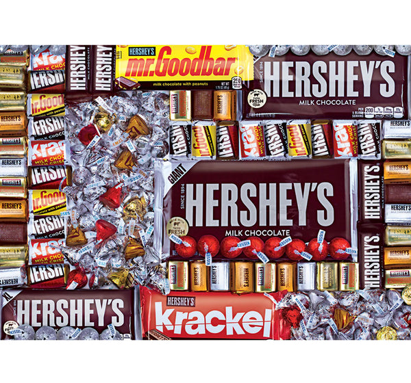 hershey's chocolate paradise - 1000 piece puzzle