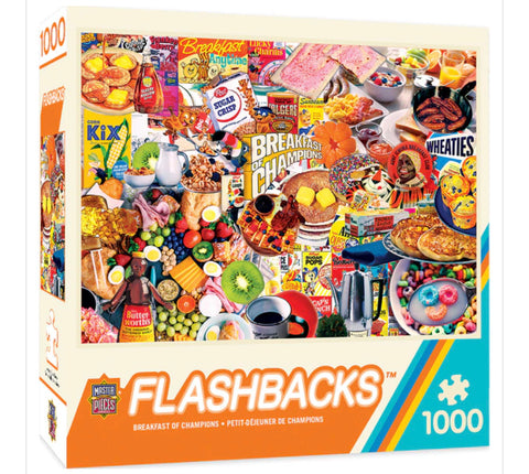 breakfast of champions - 1000 piece puzzle
