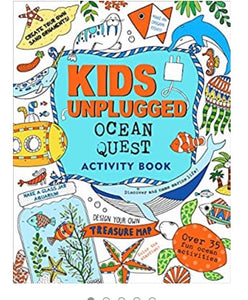 kids unplugged activity book - ocean quest
