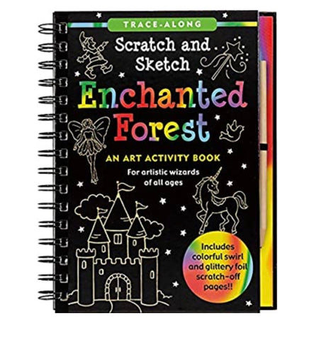 scratch and sketch - enchanted forest