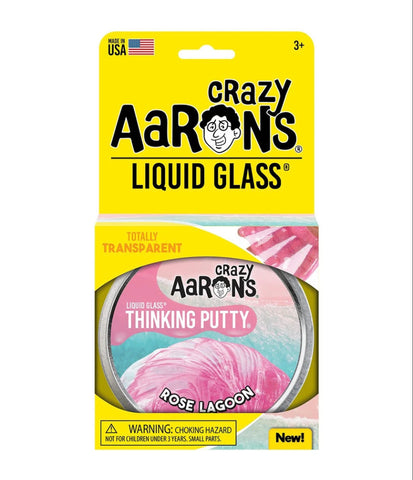 crazy aaron's thinking putty - rose lagoon
