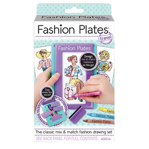 fashion plates - travel