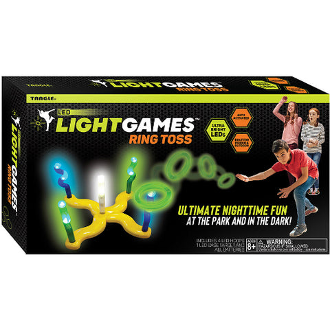 led light games ring toss