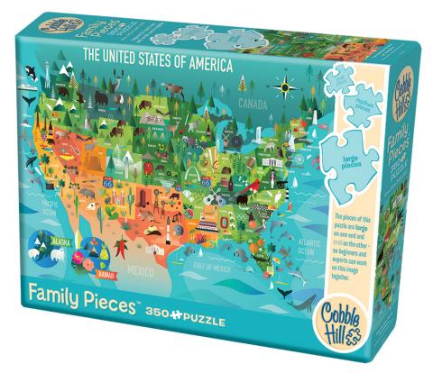 the united states of america puzzle