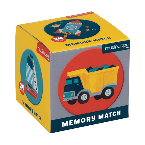 transportation mini memory match