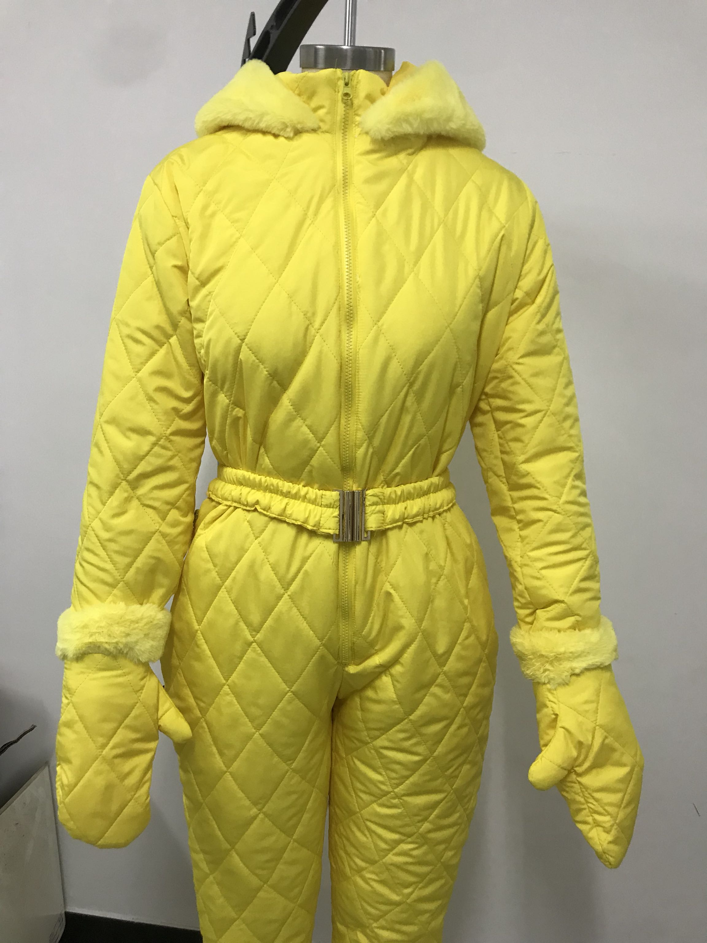 Women Winter Thick Warm Snowsuit Sports Pants Ski Suit Waterproof Windproof Jumpsuit Skiing Snow Costumes Outdoor Wear