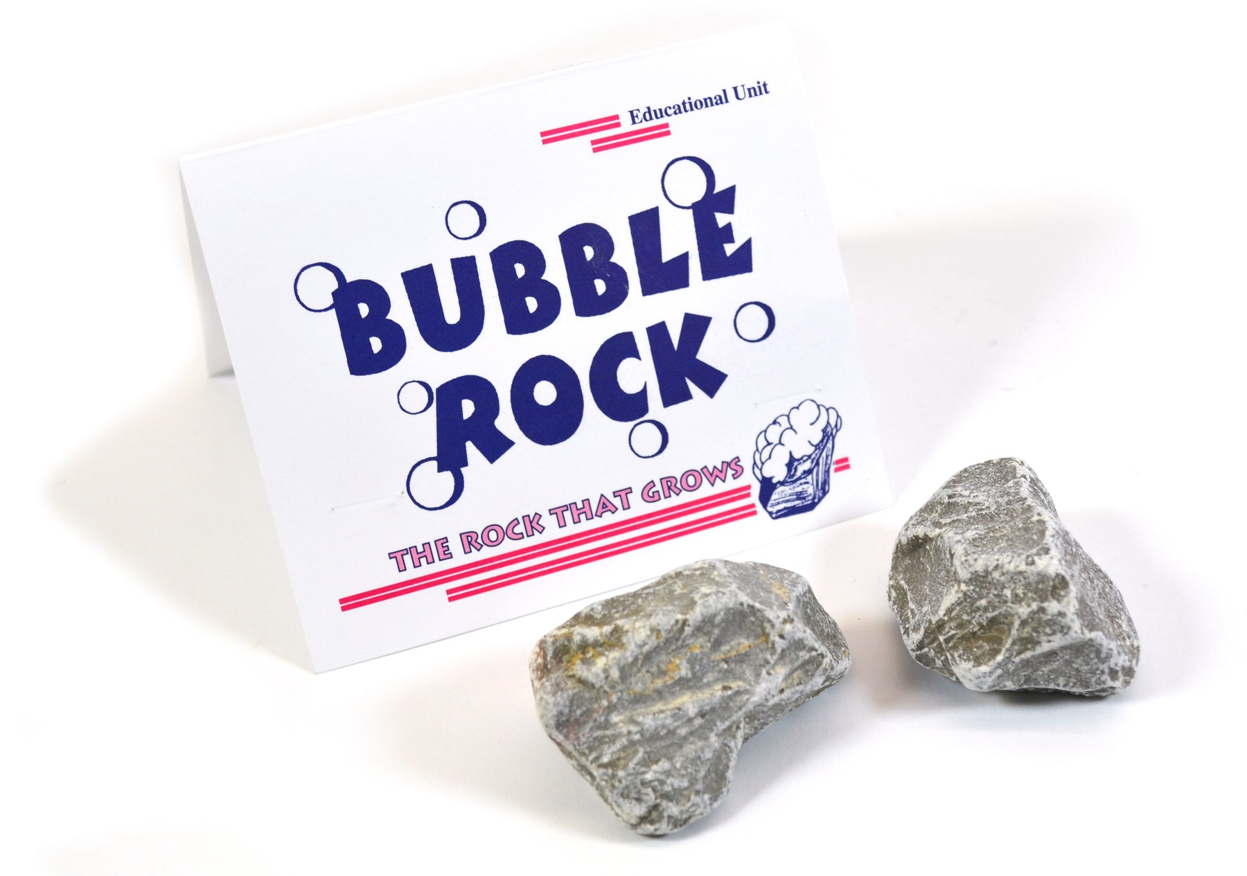 Growing Crystals with Bubble Rocks