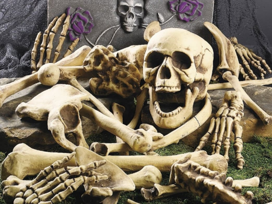 The Spookiest Work-From-Home Buddy: Skeletons and Skulls For Your Halloween Decorating
