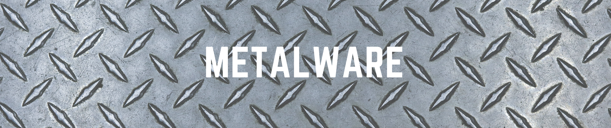 Metalware text with image background