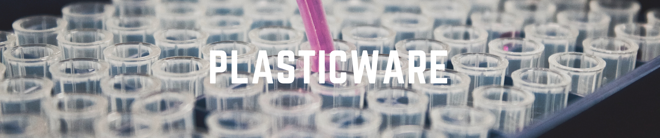 Plasticware text on image background