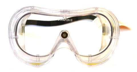 3M AOSafety?« Chemical Splash Goggles With Clear Frame, Clear Duralite?« DURAFON?« Anti-Fog Lens And Vent Free Ventilation System (Meets Meets ANSI Z87.1 Standard) - hBARSCI