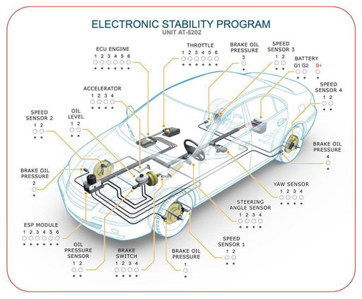 AT-5202 Electronic Stability Program Module - hBARSCI