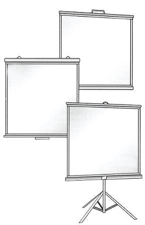 Projection Screen 52 x 70""