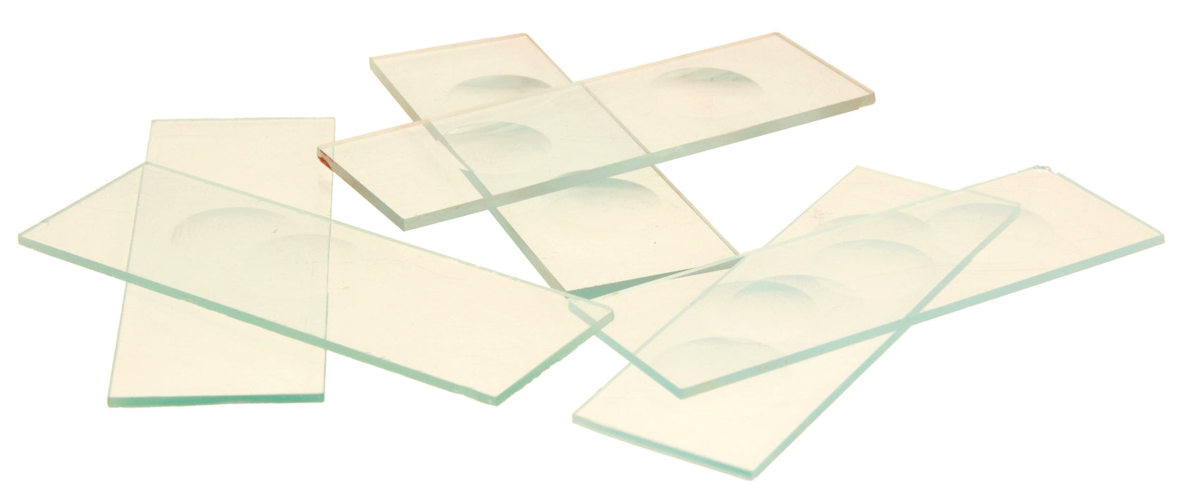 Eisco Labs Microscope Slides, With Double Concavity, Pack of 10