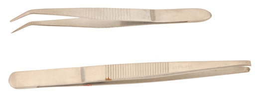 Forceps Curved 110mm, S.Steel