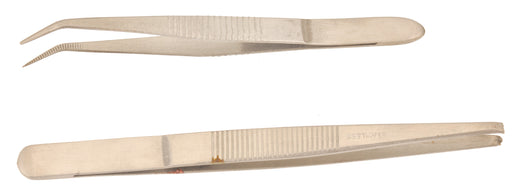 Forceps Toothed Tip 130mm, S.Steel