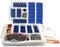 EISCO Comprehensive Basic Electricity Kit For Building and Studying Circuits (3 Part Kit)