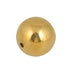 "1"" Drilled Brass Ball - Pendulum Demonstrations - hBARSCI"
