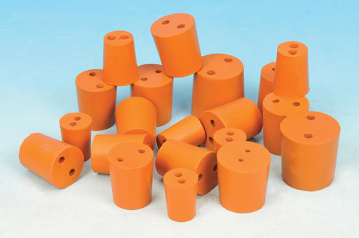 Stopper Rubber - Two hole, pk of 50