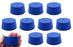 Neoprene Stopper ASTM Solid - Blue ASTM Size: #11 - 48mm Bottom, 56mm Top, 25mm Length - Pack of 10
