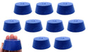 Neoprene Stopper ASTM Solid - Blue ASTM Size: #11.5 - 50mm Bottom, 63mm Top, 25mm Length - Pack of 10