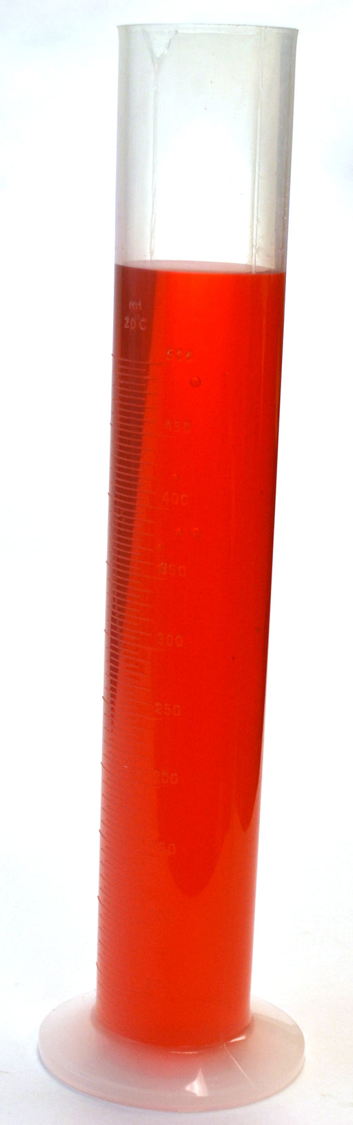 500mL Graduated Cylinder, Polypropylene, 5mL Graduations