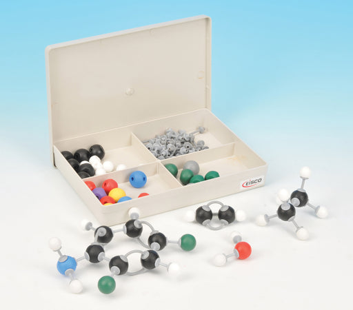 Eisco Labs Student Inorganic and Organic Chemistry Molecular Model Set, 65 Pieces