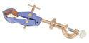 Eisco Labs Clamp Retort, 4 Prong, Cork Lined with Boss Head - Rods up to 15mm, Objects up to 90mm