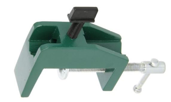 "EISCO Laboratory Table / Bench Clamp up to 2.5"" (65mm) Table Thickness, Holds Rod Diameter up to 7/16"" (11.1 mm)"