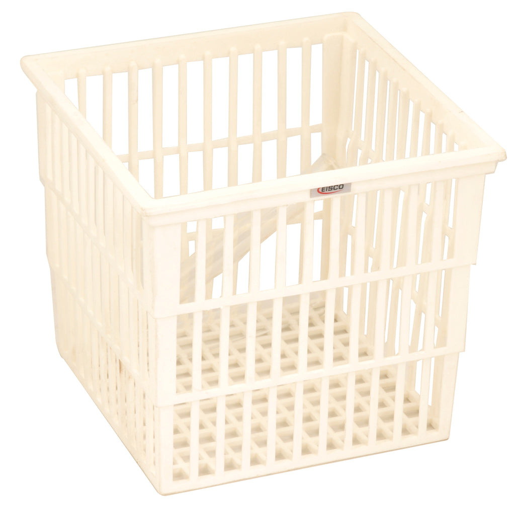 Eisco Labs Test Tube Basket, Polypropylene, 14x12x11cm