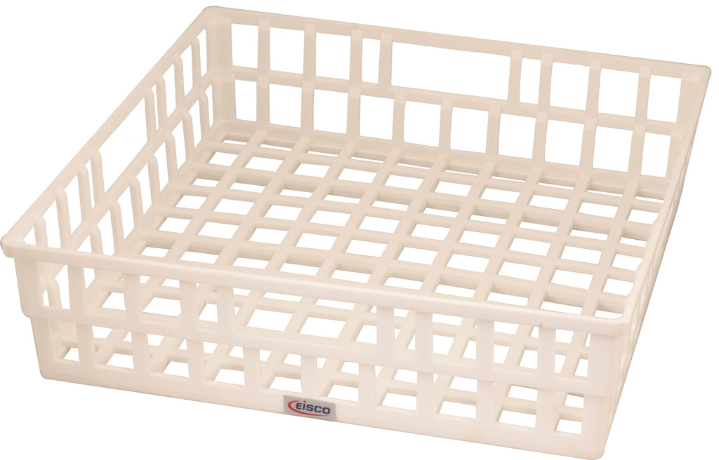 Eisco Labs Draining Basket, Polypropylene - 40cm x 40cm x 11cm