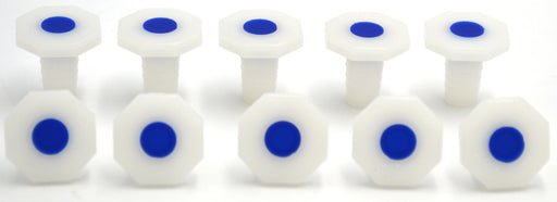 Stopper-Polypropylene 12/21, pk of 10